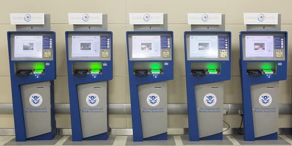 Picture of a Global Entry Kiosk